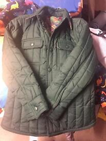 Age 6 John Lewis boys quilted coat