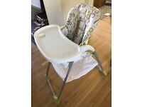Joie Mimzy Snacker High Chair - 123 design