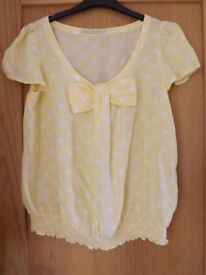 Next Yellow Top Size 12