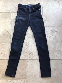 Jack wills super skinny blue jeans