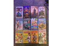 Selection of VHS Video tapes for sale, pick up only