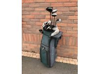 Full Set Left Hand / Left handed Golf clubs - Ping Eye 2 Irons, Cobra Driver, AFC 3 & 5 Metal Woods