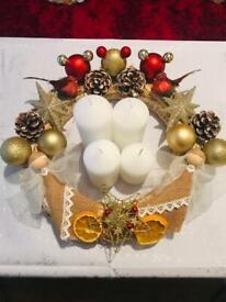 Disney Christmas door wreaths/ table decors