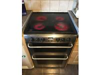 Electric double oven, grill and hobs