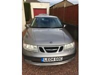SAAB 95 vector for repair or spares 2004 MOT 01/05/2019 & taxed