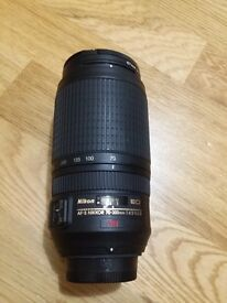 Nikon 70-300 VR f/4.5-5.6 G in excellent condition