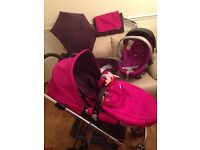 mamas & papas rubix pushchair travel system