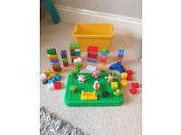 Farm set construction blocks