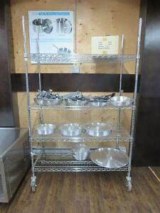 Brand New Chrome Shelving