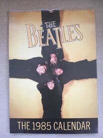 Collectors BEATLES 1985 Calendar. Original in mint condition.