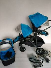Uppababy vista double a pick of blue or purple