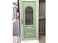 Used UPVC door & frame