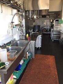 Complete commercial kitchen unit for rent for small to medium caterer. 900sq ft (no business rates)