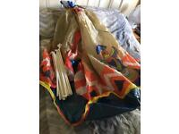 Children's play tepee as new