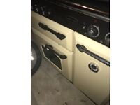 Range master gas and electric oven