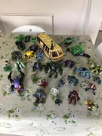 Ben 10 toy collection