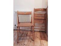 Ikea Terje folding chair x2 - like new