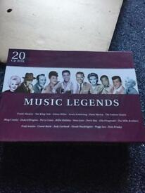 Music legends cd box set