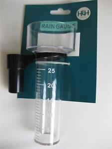 RAIN GAUGE MEASURE UP TO 25mm OF RAINFALL WEATHER STATION  BNWT
