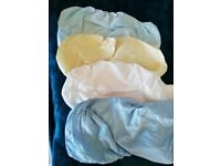 Mothercare moses basket sheets