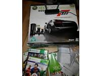 Xbox 360 limited edition plus games and wifi adapter