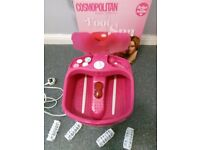 Cosmopolitan foot spa - still in the box