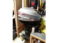 Mariner outboard engine. 10 hp two stroke.