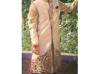 Indian Pakistani wedding sherwani small medium