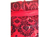 Red Bedroom Accessories and Bedding