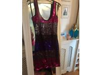 Brand New tagged New look sequin club dress size 10