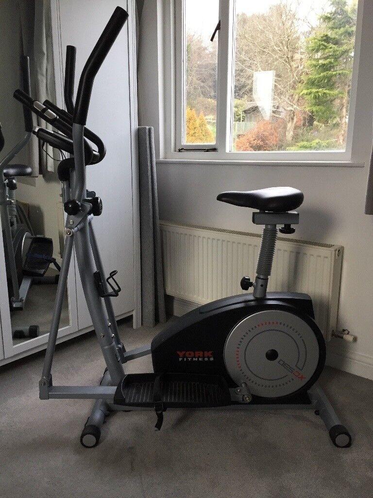 York Fitness XC530 Cross Trainer / Exercise Bike