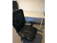 Office desk and chair - Great condition! Perfect study setup.