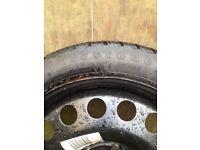 Vauxhall space saver wheel