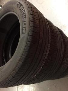 4 Michelin all season tires:235/60R18