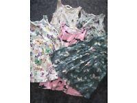 1-2 years summer dress bundle baby girl