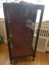 Antique Vintage display Cabinet