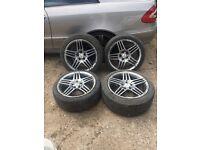 Mercedes 18' genuine amg alloys&tyres