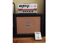 Orange Dual Terror 30 Watt Valve Guitar Amplifier Head & Speaker Cabinet *BUNDLE*