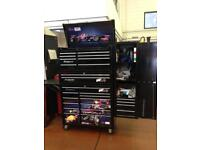 Snap on box with middle Box side cab and shelf fully loaded