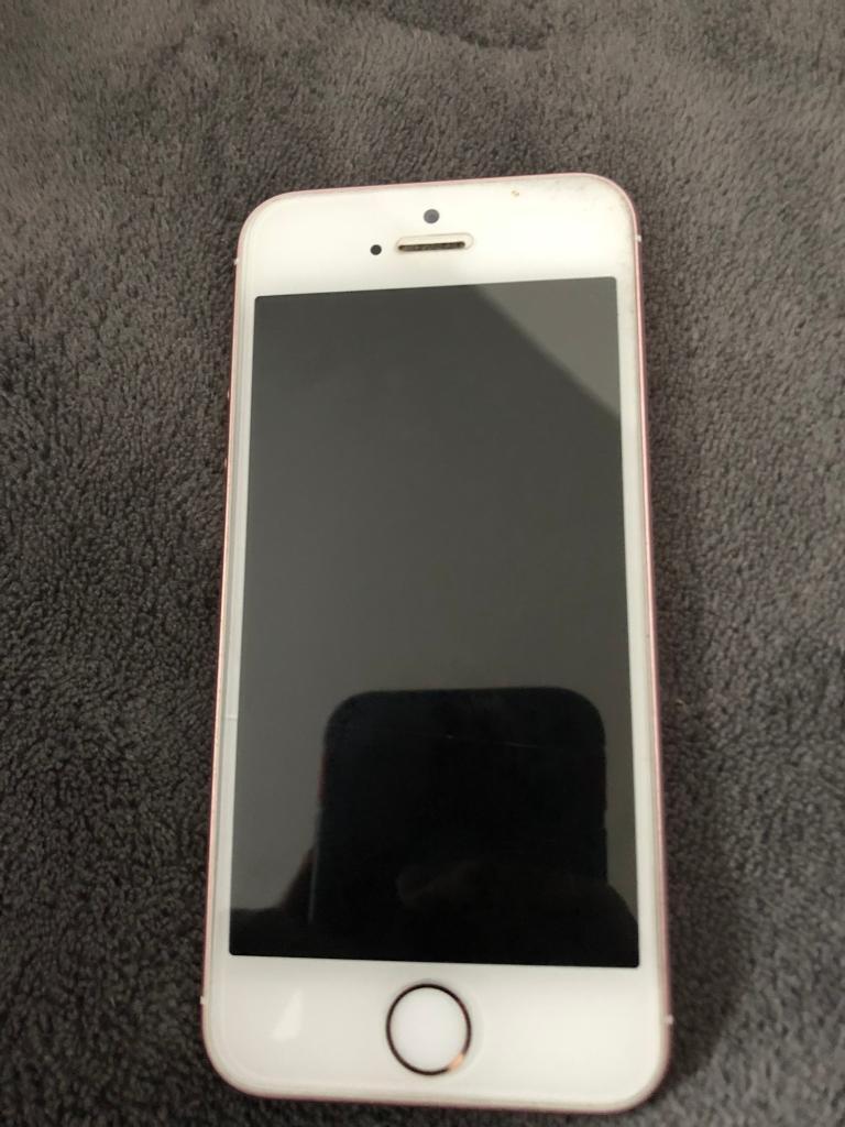 iPhone se EE pink