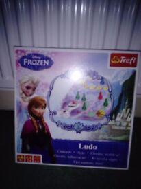 Brand new frozen game