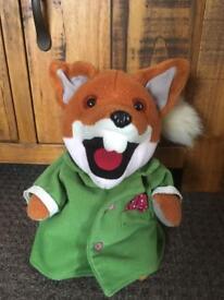 Talking Basil brush puppet