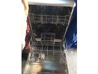 Dish washer free standing