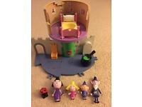 Ben & Holly Little castle and figures