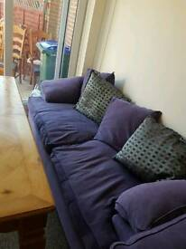 3 seater sofa and armchair FREE need gone asap