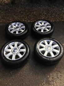 VW Golf MK5/Touran Alloys&Tyres
