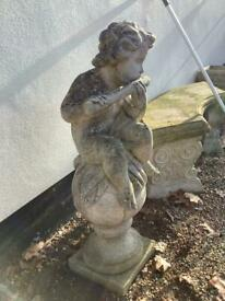 stone statue 3ft high