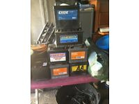 VARIOUS CAR BATTERIES FOR SALE. PETROL ONLY