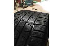 "Pirelli 19"" Car Tyre 295/35 Porsche NO rated 911 winter tyre 6mm"