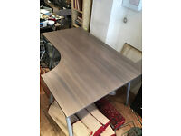 Ikea Galant Desk Right Hand Curved